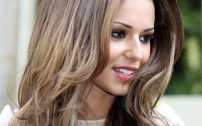 Cheryl Cole Pink Lips