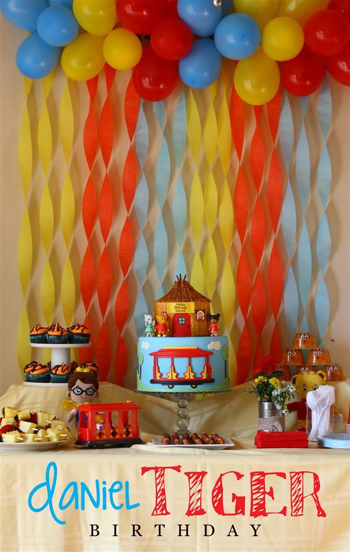 Patty Cakes Bakery Daniel Tiger Birthday