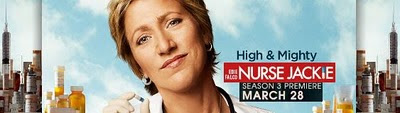 Showtime's Nurse Jackie Season 3 sookie's banner