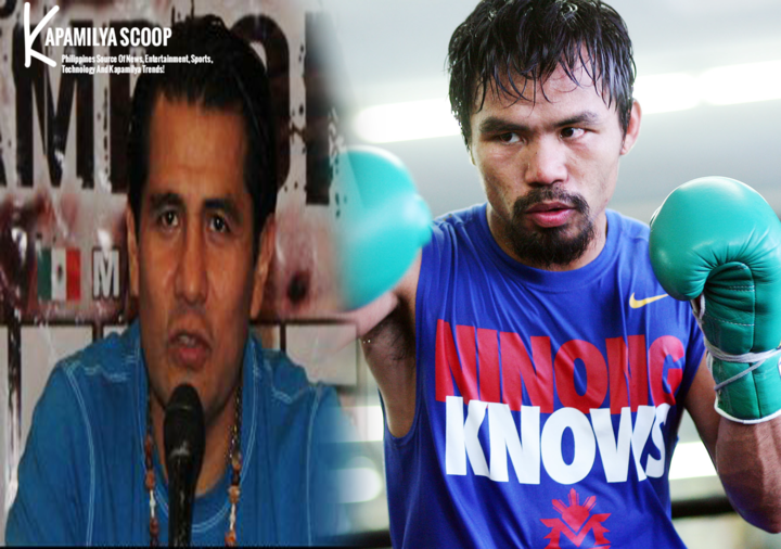 Barrera dares both Pacquiao and Mayweather to do a Superfight during a press con for Neites