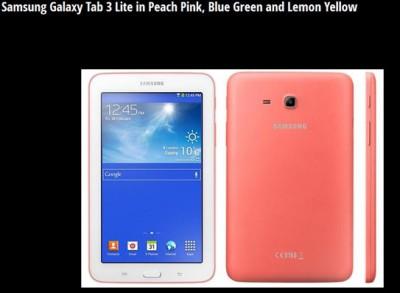 Samsung Galaxy Tab Lite 3 Kini Miliki Tiga Varian Warna