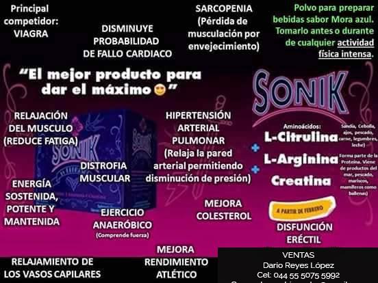 Sonik by Kromasol - El Mejor Producto para dar el Máximo