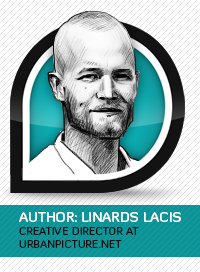 Author of the blog: Linards Lacis, Graphic Artist & Photographer at Ad Agency UrbanPicture.net