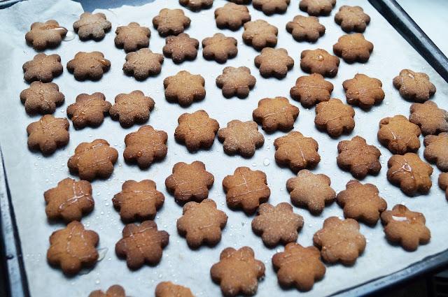 Przepis na: Zdrowe ciasteczka imibrowo-gryczane :)
