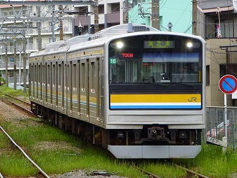 鶴見線 海芝浦行き 205系