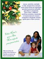 Nova Laranjeiras:Lineu Gomes e família desejam a todos um Feliz natal e um próspero ano novo
