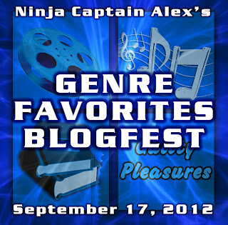 A picture of the Genre Favorites Blogfest banner from Alex J. Cavanaugh.