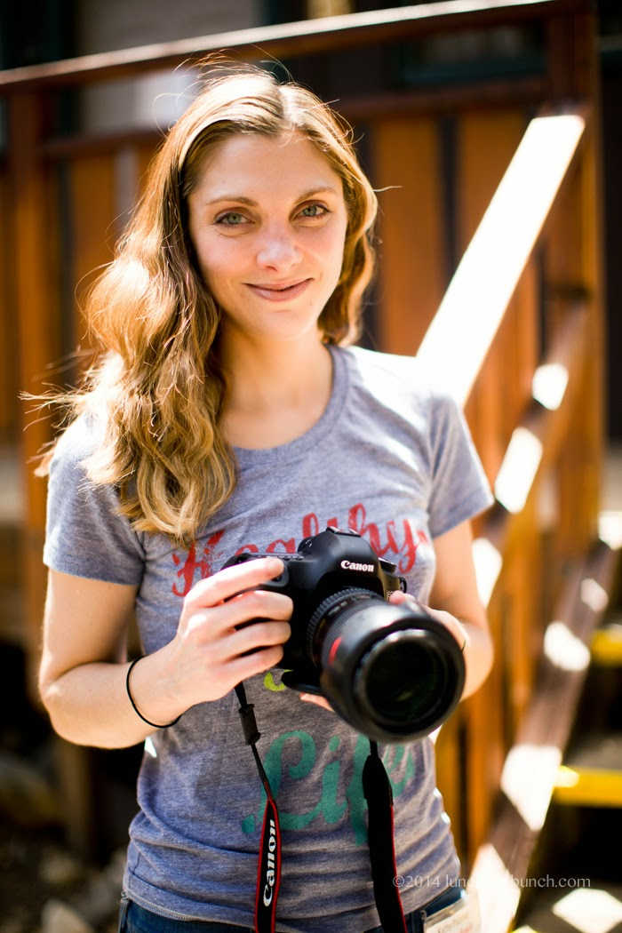 Kathy Patalsky with camera