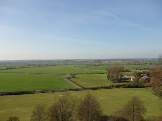 The view to Milton Keynes from Sharpenhoe Clappers