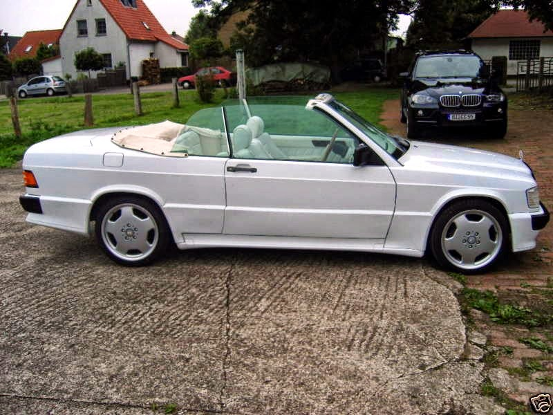 Mercedes 190e Cabriolet Schulz Tuning Benztuning