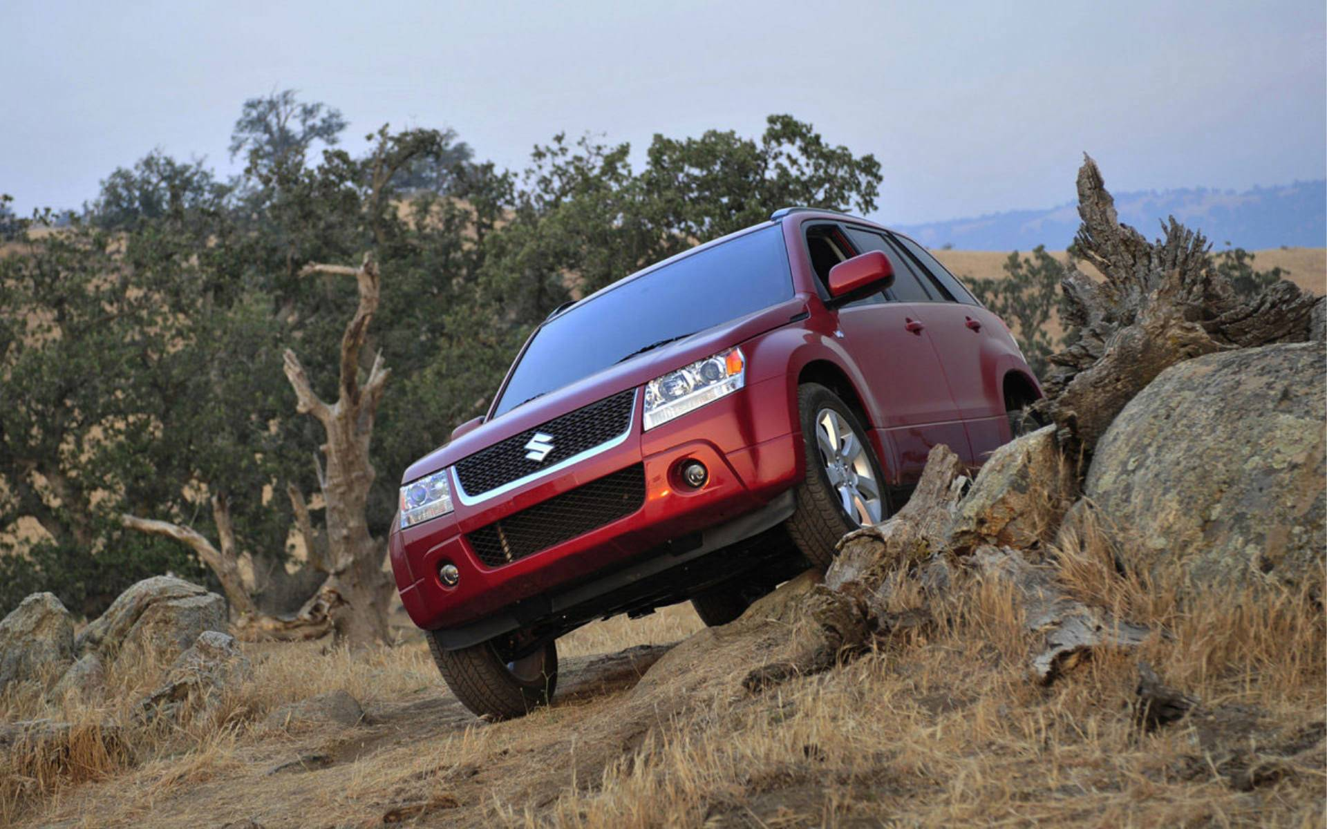 Suzuki Grand Vitara Off Road Widescreen HD Wallpaper 4 title=