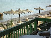 вид из отеля на Красное море