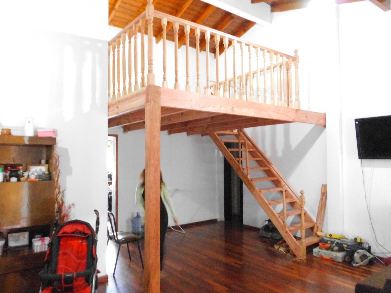 Entrepisos de madera escaleras marzo 2013 for Como hacer una escalera para entrepiso