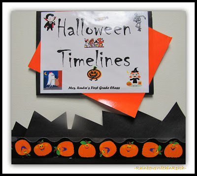 Halloween Bulletin Board in Elementary School via RainbowsWithinReach