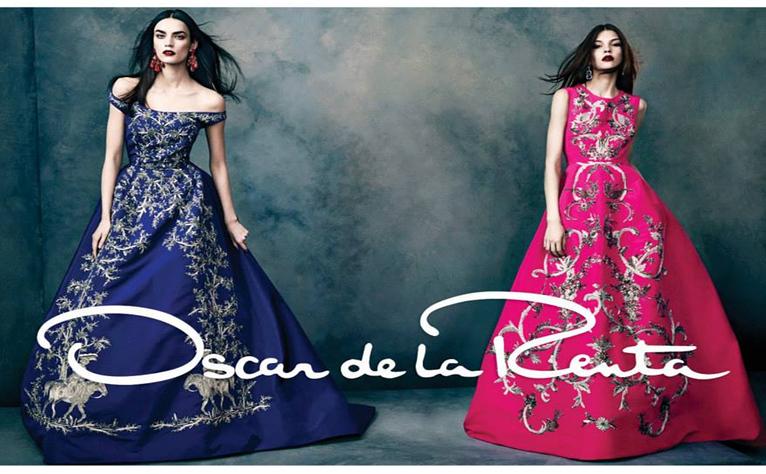 Oscar de la Renta Fall 2013/2014 Campaign Gowns