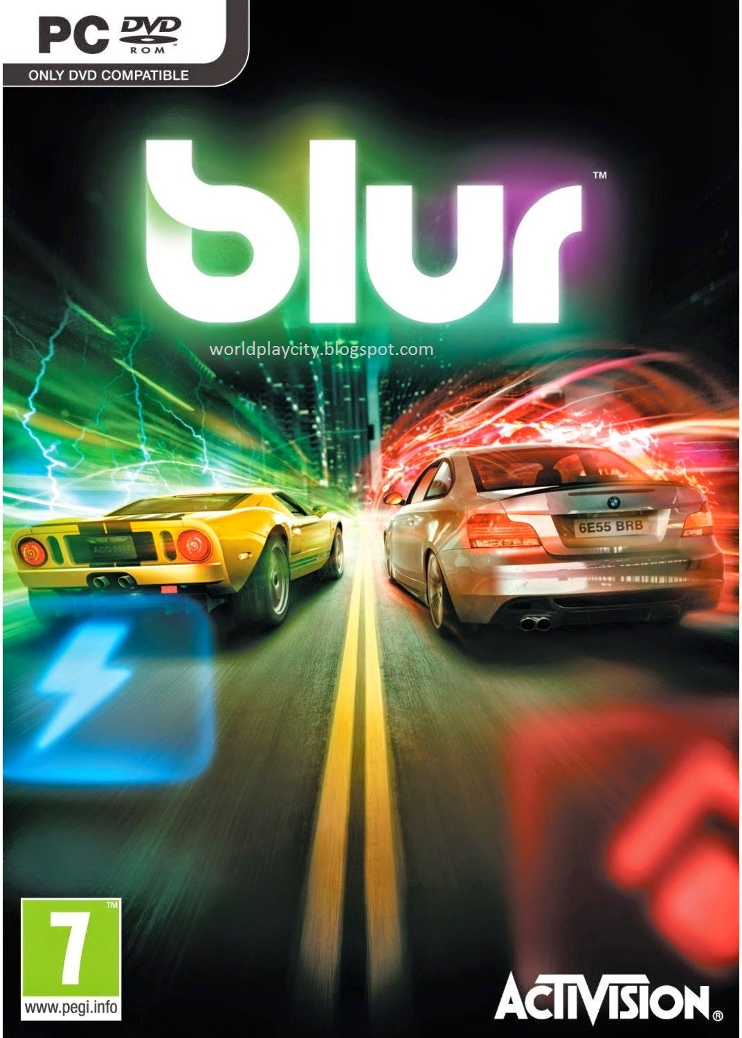 Blur PC Racing Game Free Download Full Version