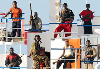 Somalian pirates