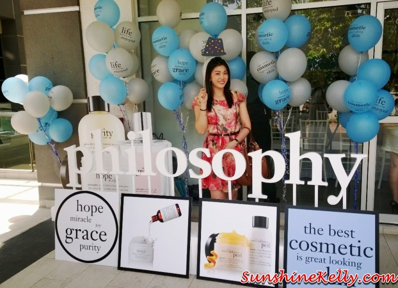Philosophy Skincare in Malaysia, launch, Philosophy Skincare, skincare, usa skincare, believe in miracles