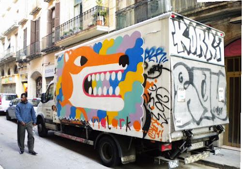 Malarky hits up Barcelona'sTrucks