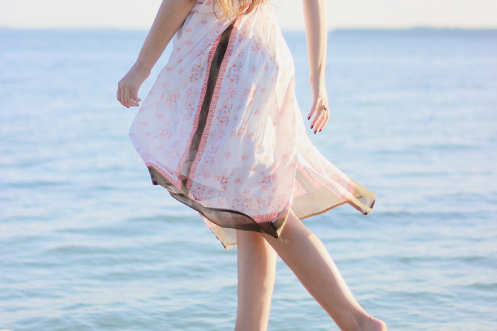 beach outfit style blog