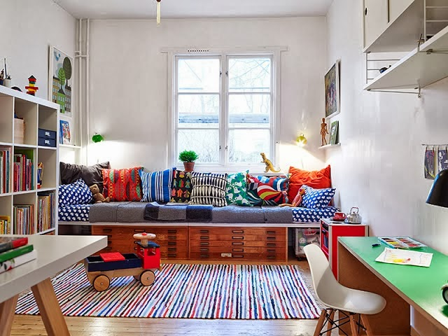 Ã¥pent hus: Ideer til barnerommet / play with kids' decor