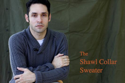 Shawl Collar Sweater Under Blazer The Shawl Collar Sweater
