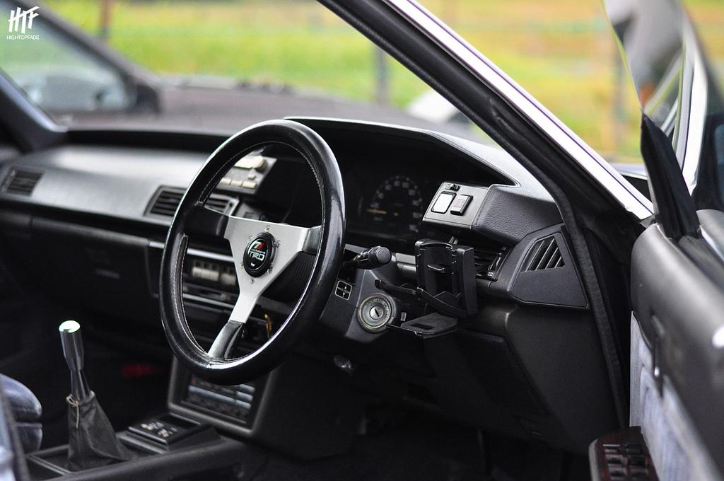 Toyota Chaser, X70, GX71, wnętrze, interior, twin turbo, GT, JDM, japoński sedan, hardtop, stary samochód, klasyk, kultowy, sportowy, napęd na tył, RWD, tuning, zdjęcia, fotki, 日本車, チューニングカー, シャコタン, クラシックカー, こくないせんようモデル, トヨタ・チェイサー