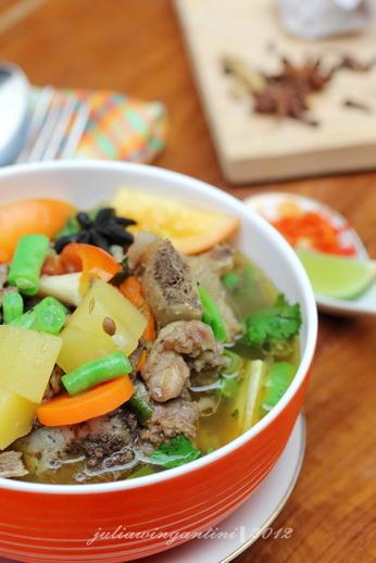 Cara Masak Sup Tulang Malaysia