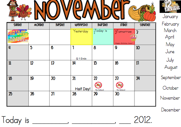 "Kindergarten Calendar Smartboard : Search results for ""smartboard calendar may"