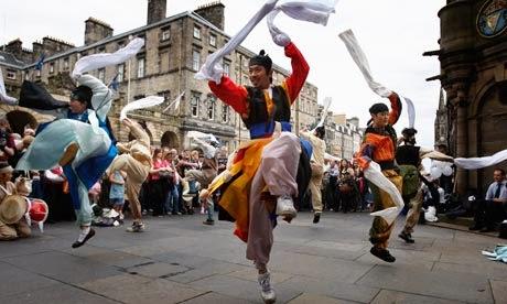 Arts festival in Edinburgh