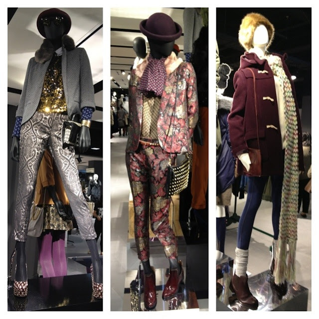 top shop dressed mannequins, amazing fashion, chic style, top shop Vancouver