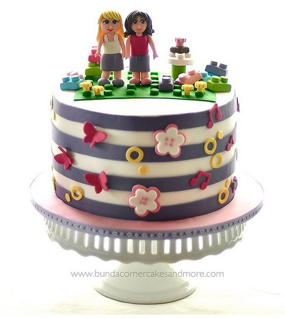 Cake Images For Friends : LEGO Friends Inspire Girls Globally: LEGO Friends Birthday ...