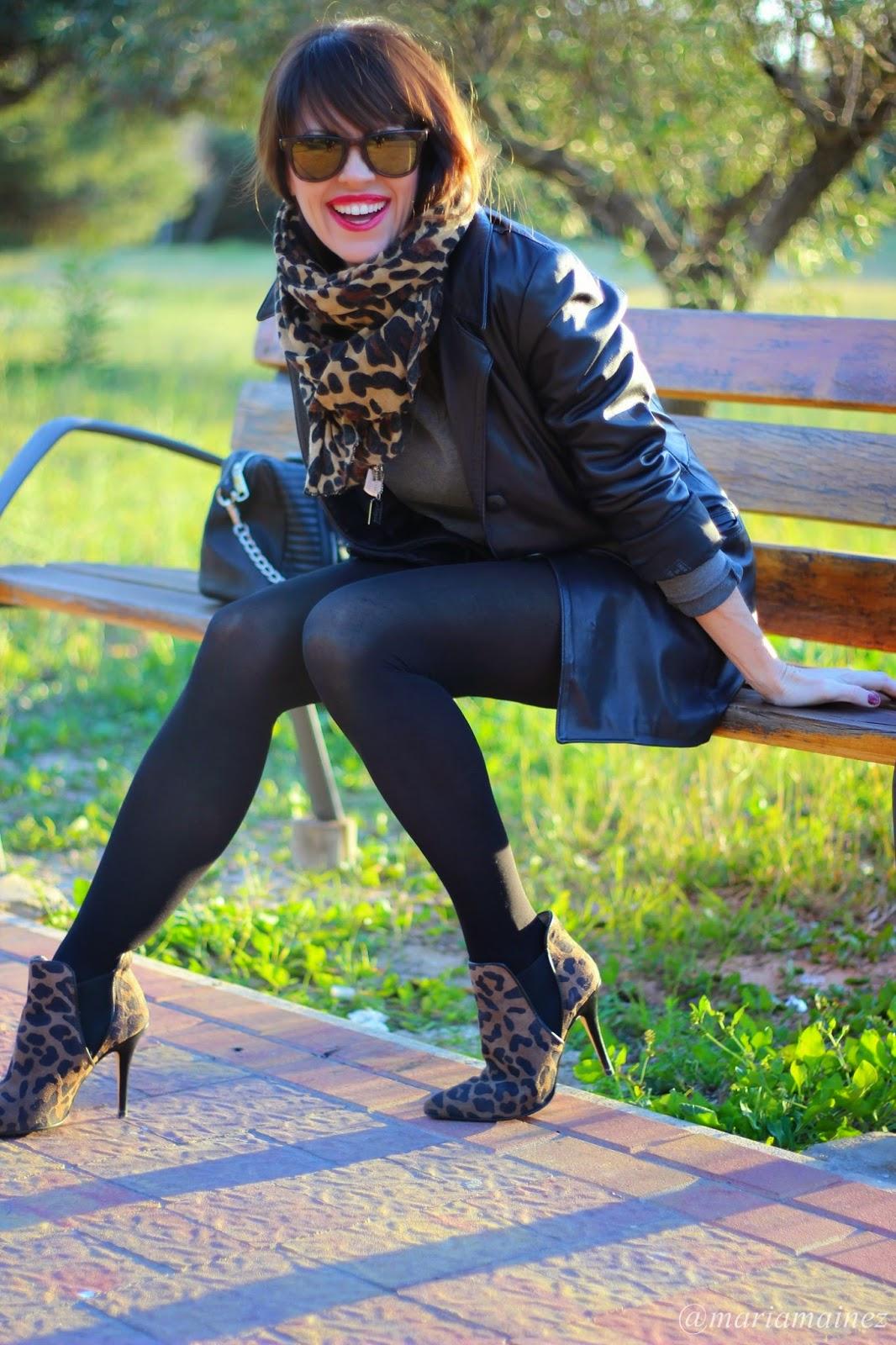 Jumpsuit Zara - Streetstyle - Leopard print - Fashion Blogger
