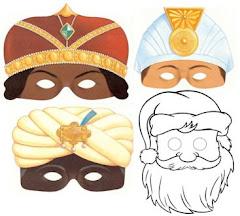 Máscaras navideñas