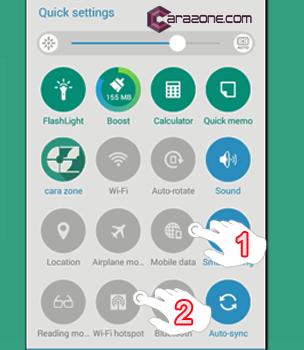 Mobile data dan Wi-fi hotspot