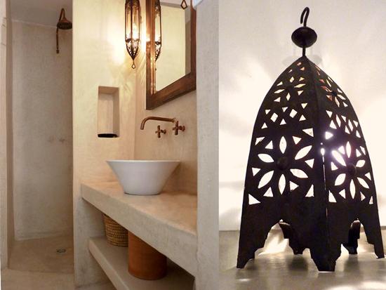 built in bathroom