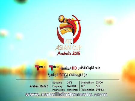 tv yang menyiarkan piala asia 2015