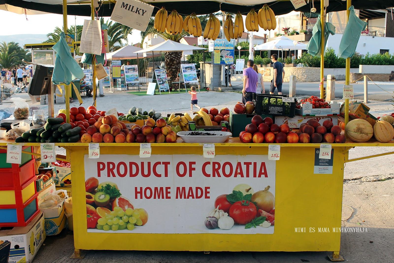 Trogir, Ciovo sziget, Omis, Split