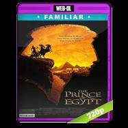 El príncipe de Egipto (1998) WEB-DL 720p Audio Español 5.1