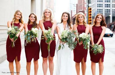 Madrinas y damas de boda