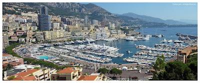Monaco Monte Carlo panoramic image