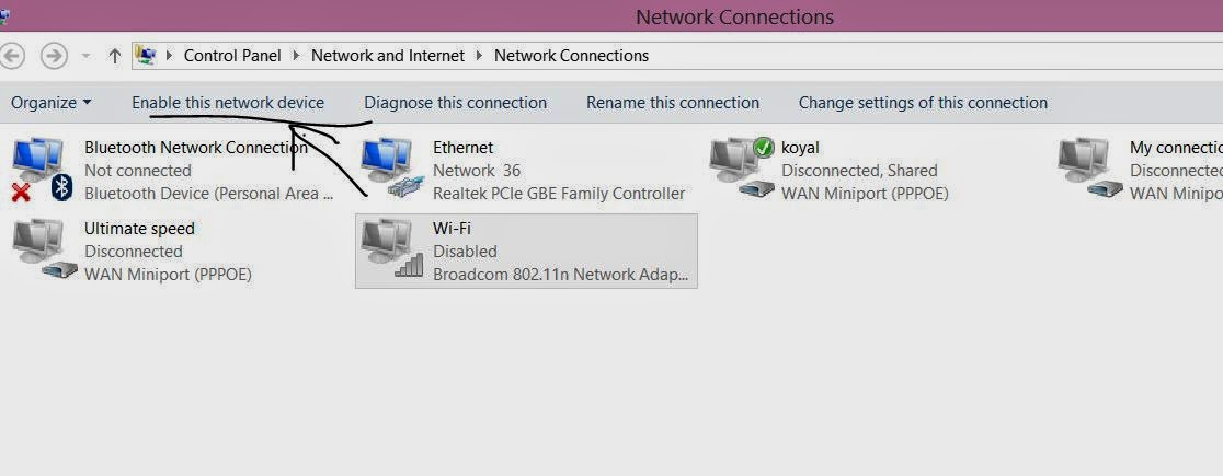 turn on wifi in windows 8.1 preview step 5