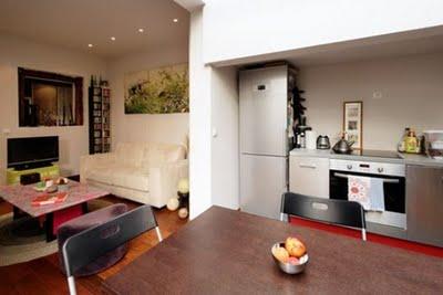 Decoraci n de interiores departamento moderno en paris for Decoracion de interiores paris