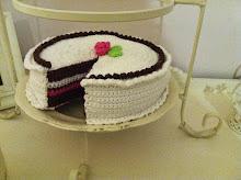 Skuren tårta