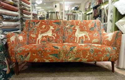 Sofa in Arden velvet