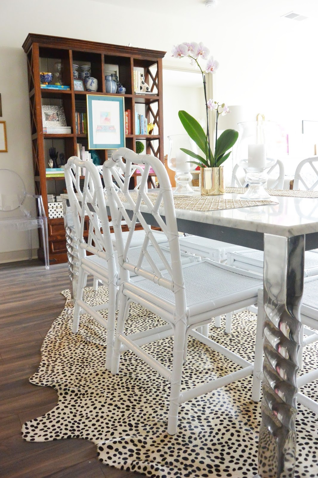 life with a dash of whimsy: chinese chippendale chairs diy update