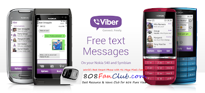 برنامج فايبر لجوالات سيمبيان نوكيا Download Viber Nokia N8