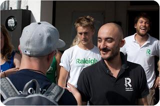 Pedro greets the venturers