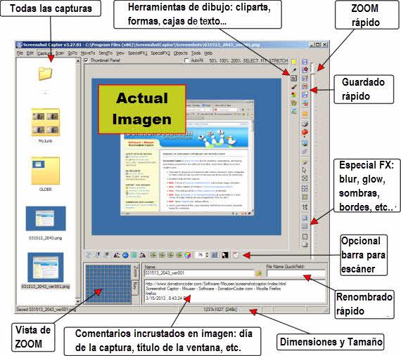 Screenshot Captor, gran solución para capturar pantallas