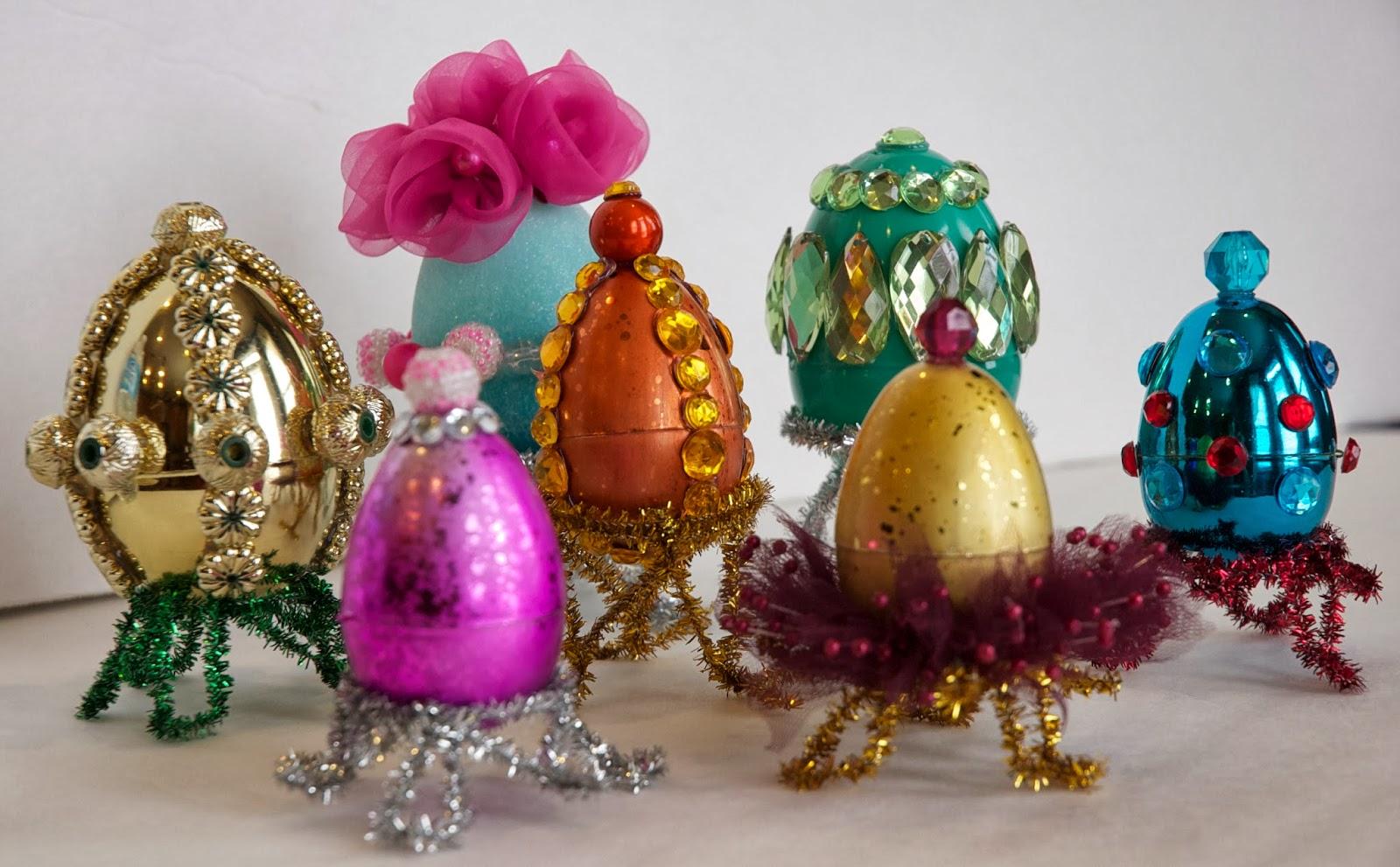 Egg Christmas Ornaments